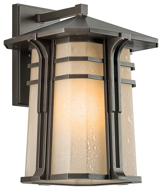 BUILDER North Creek Arts And Crafts Mission Outdoor Wall Sconce X ZO77194 T
