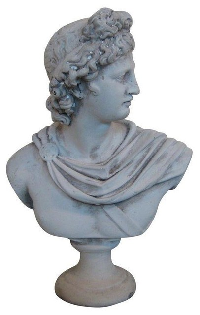 Pre-owned Vintage Bust of Bacchus - God of Wine traditional-decorative-objects-and-figurines