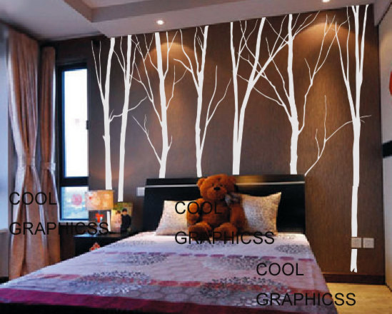 Trees Vinyl Wall Decal by Cool Graphicss - contemporary - decals ...