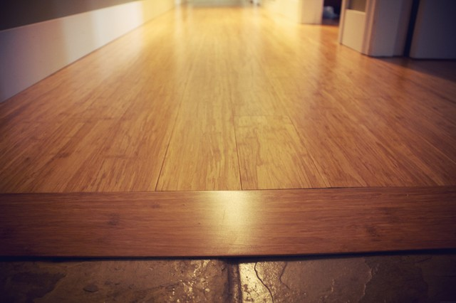 The Leyland St Bamboo Flooring Project Traditional Vancouver By