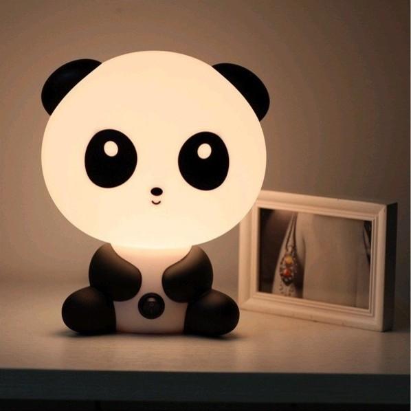 Cartoon Baby Kung Fu Panda Nightlight by Pinkified contemporary-night-lights
