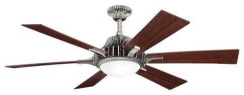 Kichler 300136AP Valkyrie 52 in. Indoor Ceiling Fan - Antique Pewter contemporary ceiling fans