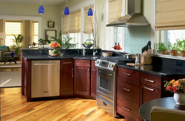 Cherry Kitchens eclectic-kitchen