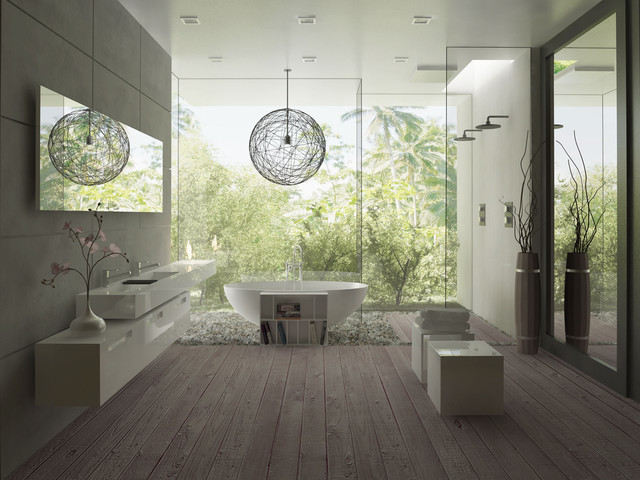 modern bathroom Marcheeta pl