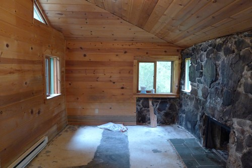 Help brightening a dark room in vacation cabin for How to brighten a room