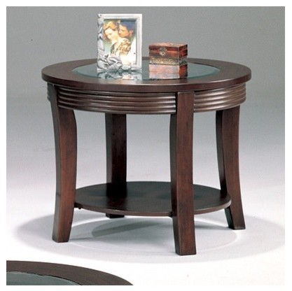 Blue Lake End Table modern-side-tables-and-end-tables