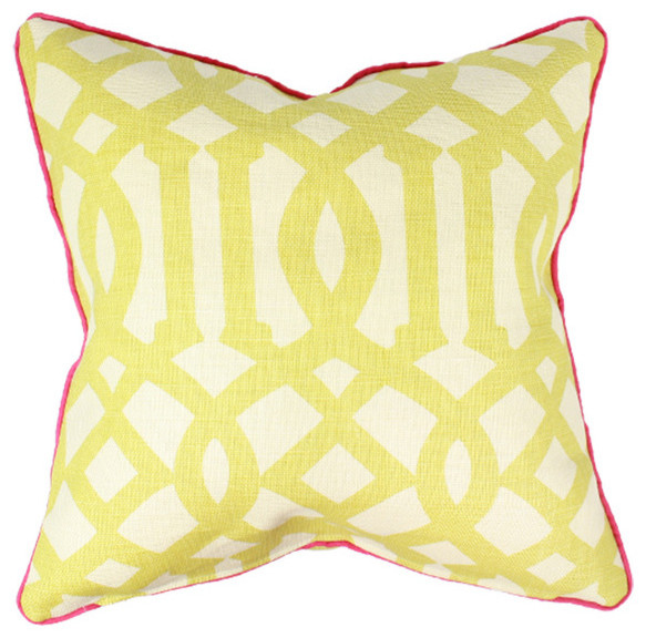 Imperial Trellis Pillow contemporary pillows
