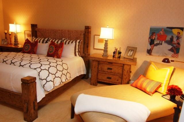 Florida Condo traditional-bedroom