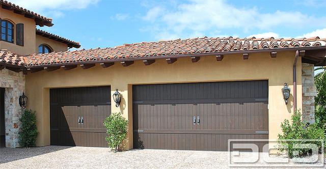 Tuscan Garage Door 07   Architectural Design With Iron ...