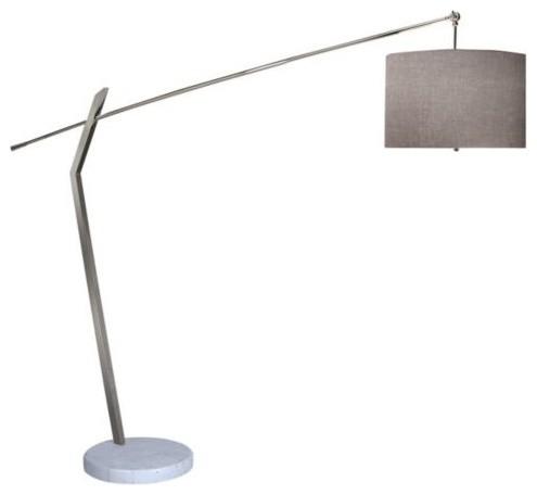 chelsea arc floor lamp by trend lighting modern floor. Black Bedroom Furniture Sets. Home Design Ideas
