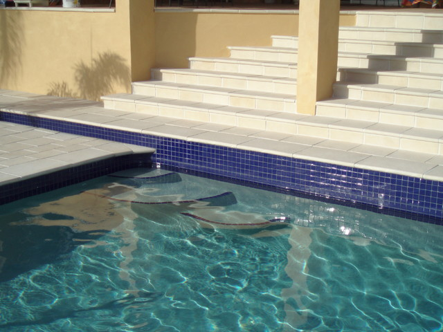 Pool inspirations - Contemporary - Floor Tiles - other metro - by Amber Tiles Australia