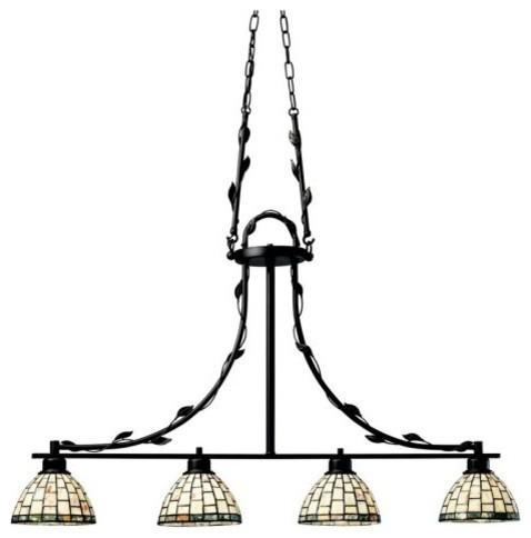 Kichler Lighting Kichler Botanical Reflections 64306 Island Light - 7 in. - Olde traditional-ceiling-lighting