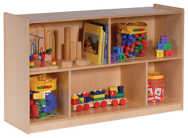 "Mobile Toy Storage Cabinet, 32""w, Single - Contemporary - Toy Organizers - by clickhere2shop"