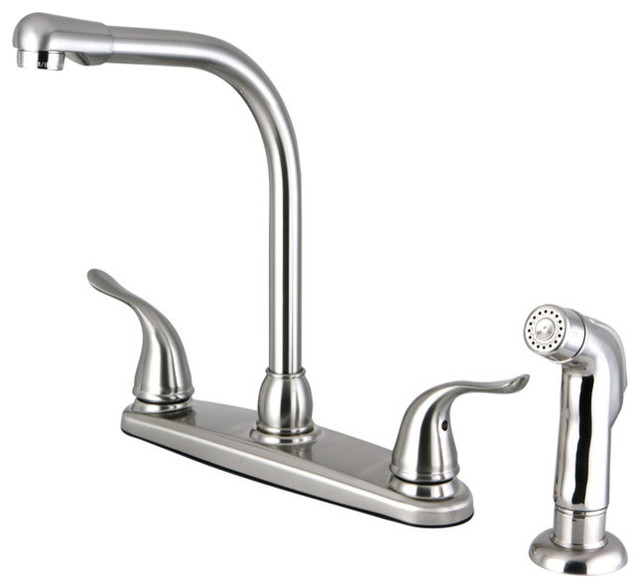 8 Inch Centerset Kitchen Faucet Contemporary Kitchen Faucets By Cheaper