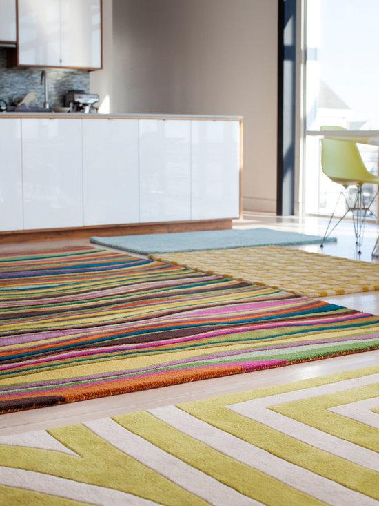 Spike, Hand-Tufted Wool Rug -