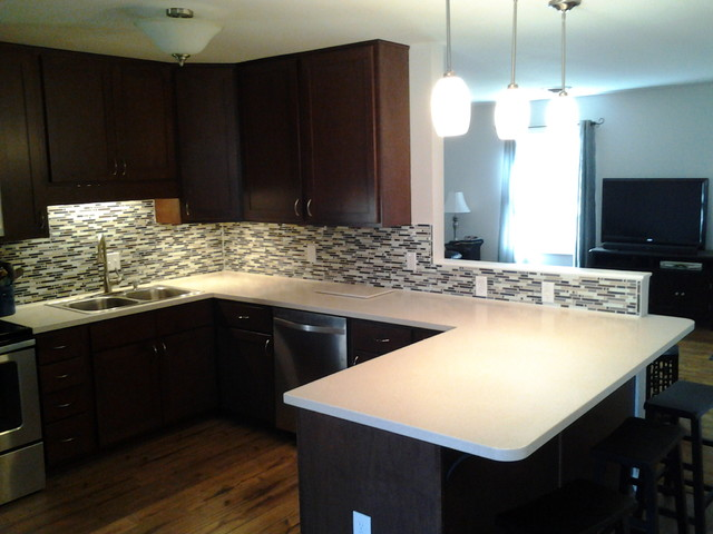Solid Surface Kitchen Countertops : ... Kitchen Countertops - other metro - by Innovative Solid Surfaces, LLC