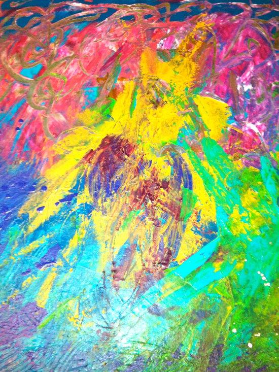 "art by august wells - ""journey home II"""