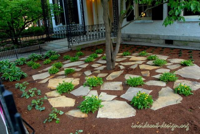 Historic Eco Garden traditional-landscape
