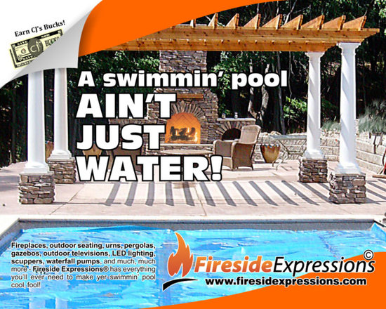Pool accessories - Turn your sad soul's swimmin' hole into the perfect poolside paradise!  Save 3% while doing it with coupon code PIN3!