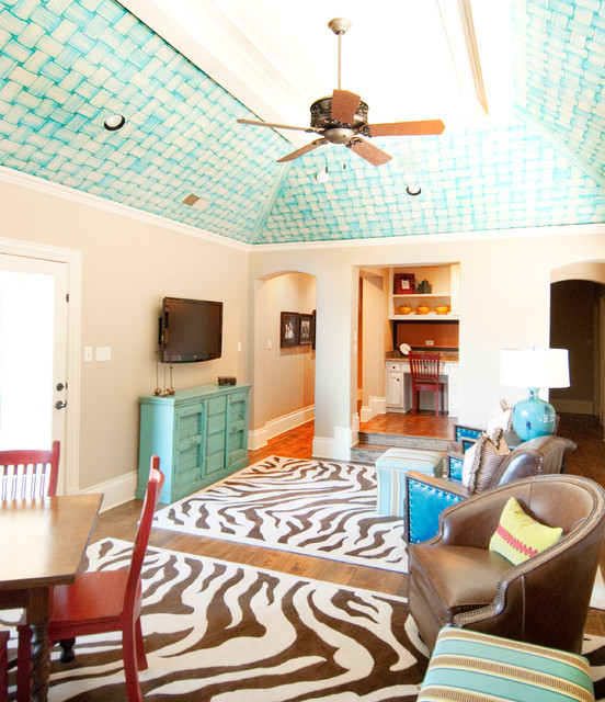 Vibrant Family Retreat eclectic-family-room