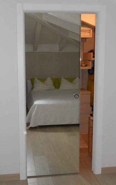 Door with mirror - by Ennetre Fenster contemporary-interior-doors