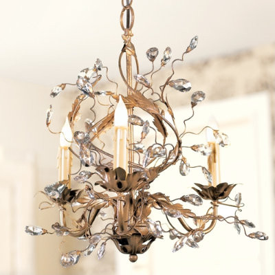 Petitie Claire Chandelier traditional-chandeliers