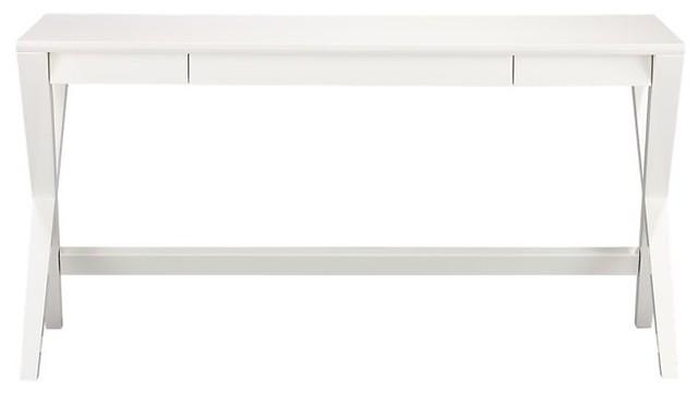 Spotlight White Desk modern-desks-and-hutches