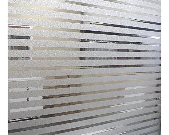 Translucent Privacy Window Film For Bathroom - Instruction: