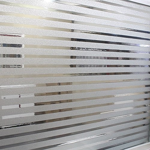 Translucent privacy window film for bathroom for Film plastique fenetre