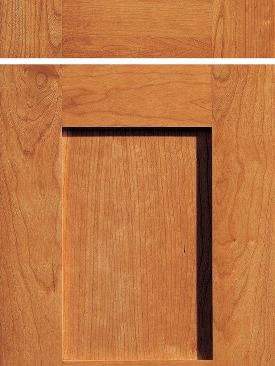 "Dura Supreme Cabinetry - Dura Supreme Cabinetry Napa Cabinet Door Style - Dura Supreme Cabinetry ""Napa"" cabinet door style in Cherry shown with Dura Supreme's ""Harveset"" stain finish."