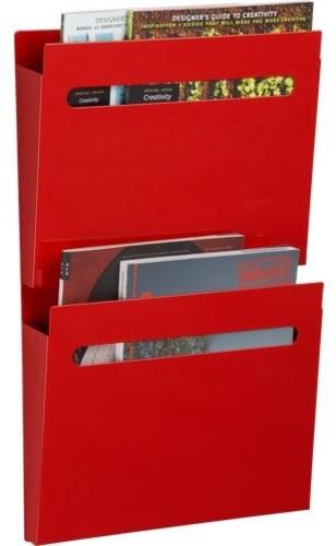 red file file - Modern - Desk Accessories - by CB2