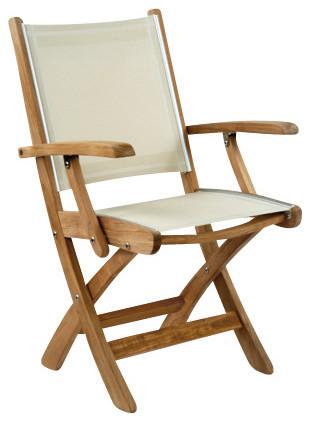 St Tropez Folding Chair By Kingsley Bate Modern