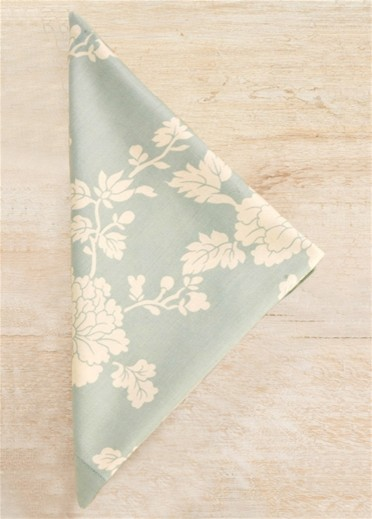 Pine Cone Hill Madeline Blue Napkin Set traditional table linens