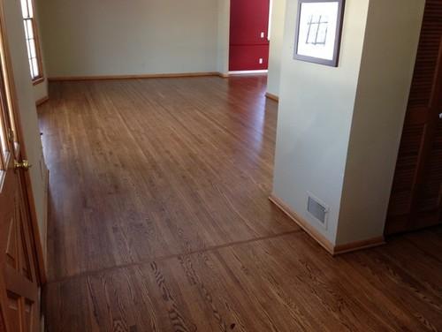 Old Wood Floor To New Hardwood Floor Transition Photos Please