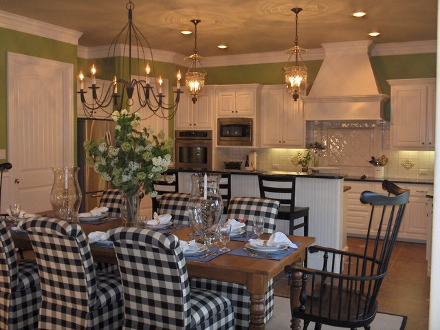 Country Kitchen Dining Room Ideas Of Updated Transitional Country Kitchen Traditional