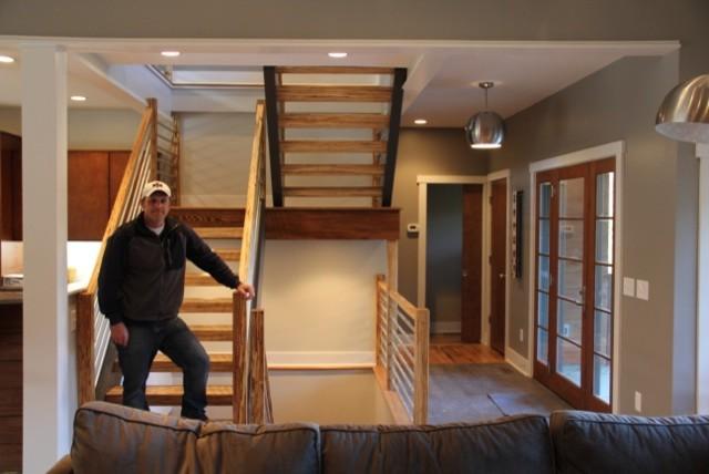 Bonesteel contemporary-staircase