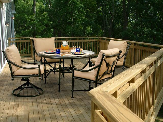 www.essentialsinside.com: origin 5pc patio dining set traditional-patio-furniture-and-outdoor-furniture