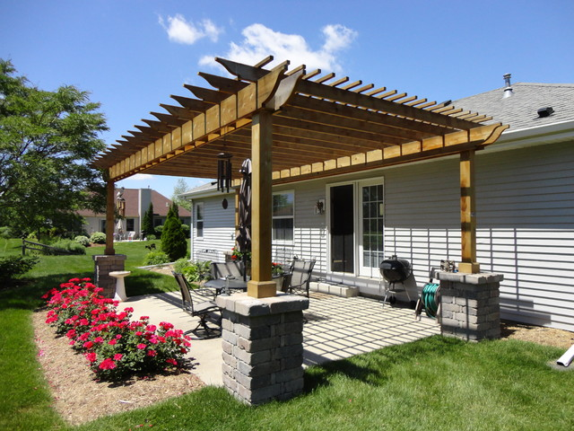 Pergolas for Pergola images houzz