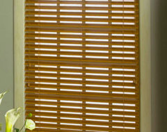 Levolor 2 Nuwood Faux Wood Blind traditional window blinds