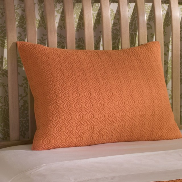 rhombus sham sunrise traditional-shams