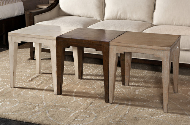 Bunching Cocktail Table Eclectic Side Tables And End Tables Other Metro By Dillard