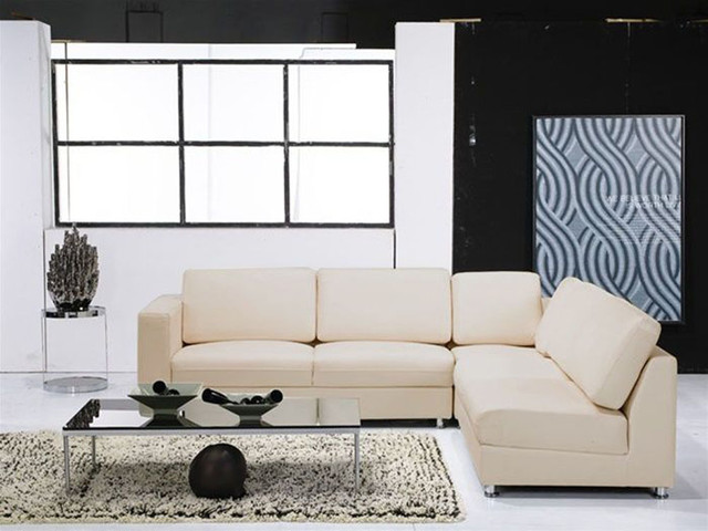 High End Furniture Italian Leather Upholstery contemporary-sectional-sofas
