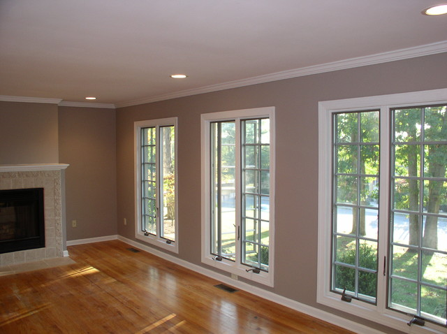 Painting of Walls and Stained Trim in Livingston NJ 07039