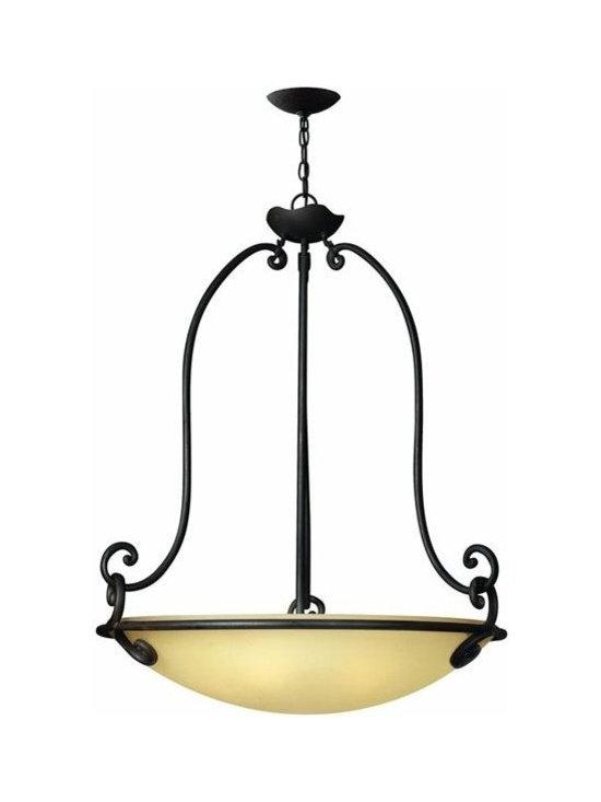 Hinkley Lighting 4054OL 5 Light Pendant Gold Hill Collection -