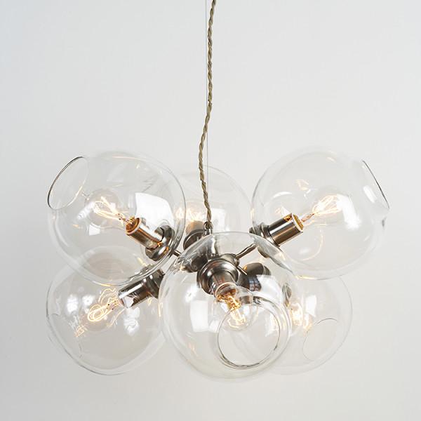 Bubble Chandelier - 6 Globe by Lindsey Adelman modern-chandeliers
