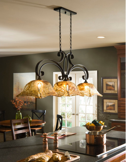 uttermost vetraio, 3-lt kitchen island Lighting 21009. HomeThangs ...