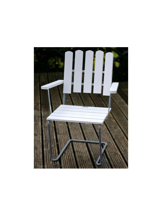 A2 Arm Chair White Oak -