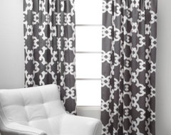 Montecito Panels - Grey modern-curtains