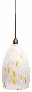 LBL Lighting  Caroline Pendant Light (bronze) modern-pendant-lighting