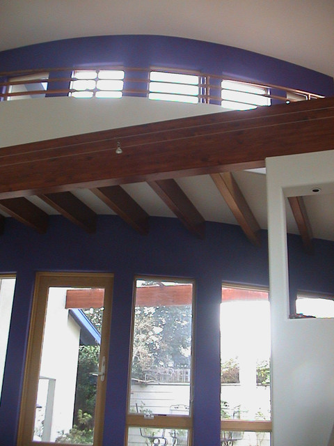 Curved wall contemporary-hall
